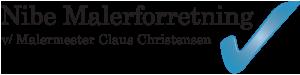 Nibe Malerforretning Logo